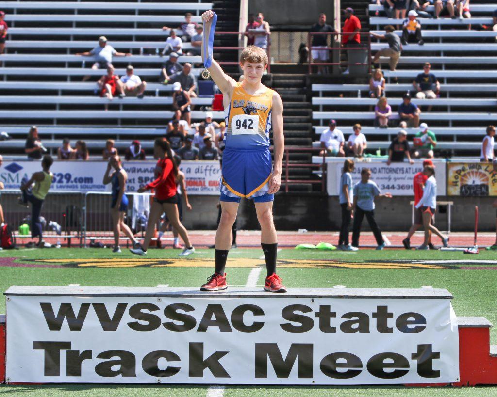 Trevor Armes - WCSSAC 400 meter champion